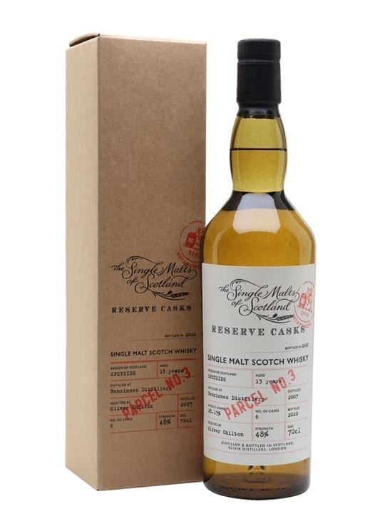 Benrinnes 13 Years Old / Reserve Cask - Parcel. No 3 Speyside Whisky