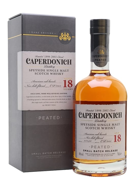 Caperdonich 18 Year Old Peated / Secret Speyside Speyside Whisky