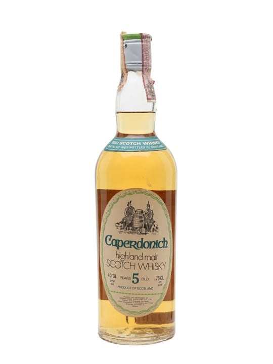 Caperdonich 5 Year Old / Bot.1970s Speyside Single Malt Scotch Whisky