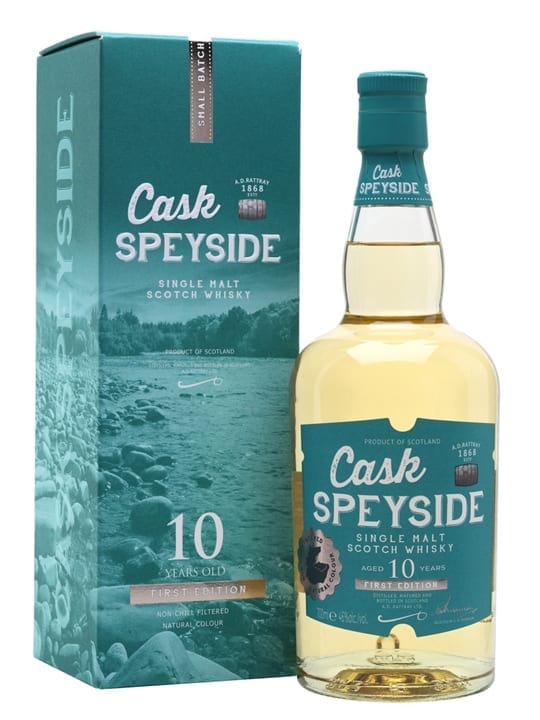 Cask Speyside 10 Year Old / First Edition Speyside Whisky