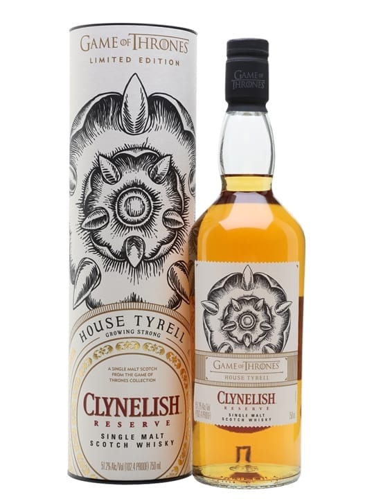 Clynelish Reserve / Game of Thrones House Tyrell Highland Whisky