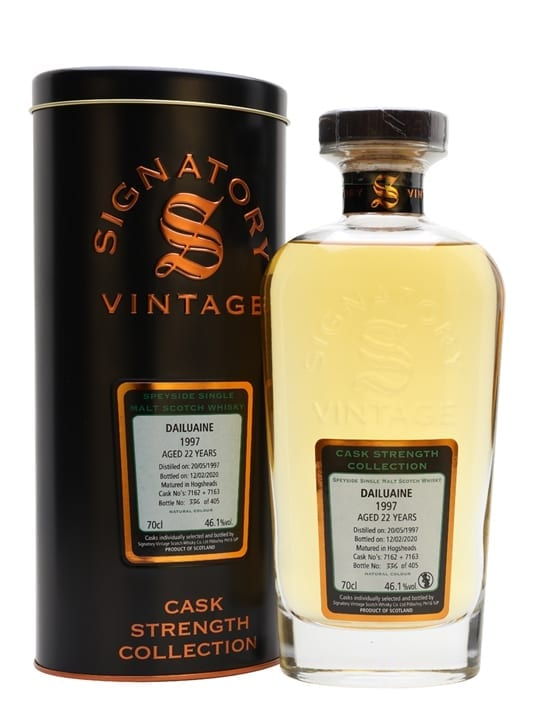 Dailuaine 1997 / 22 Year Old / Signatory Speyside Whisky
