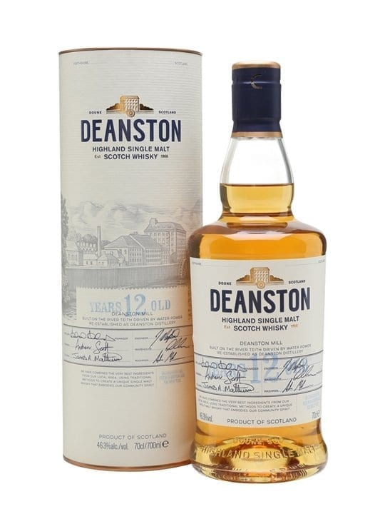 Deanston 12 Year Old / Unchillfiltered Highland Whisky