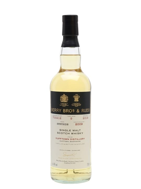 Dufftown 2009 / 9 Year Old / Berry Bros & Rudd Speyside Whisky