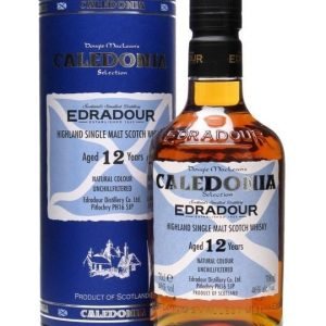 Edradour 12 Year Old / Caledonia Selection / Oloroso Cask Highland Whisky