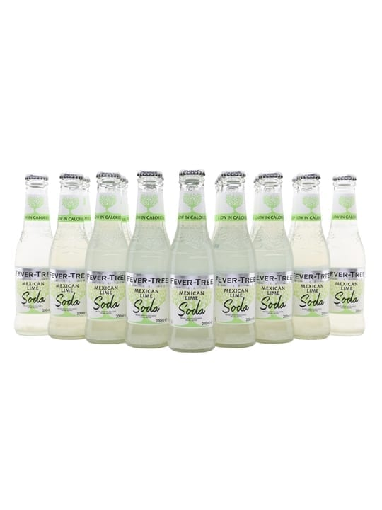 Fever-Tree Mexican Lime Soda / Case of 24 Bottles