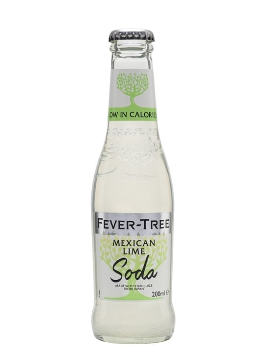 Fever-Tree Mexican Lime Soda / Single Bottle