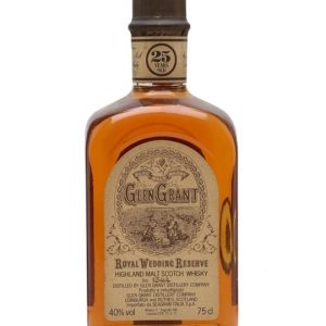 Glen Grant 25 Year Old / Royal Marriage Speyside Whisky