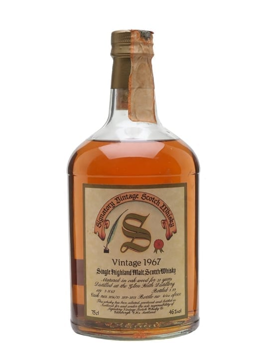 Glen Keith 1967 / 21 Year Old / Signatory Speyside Whisky