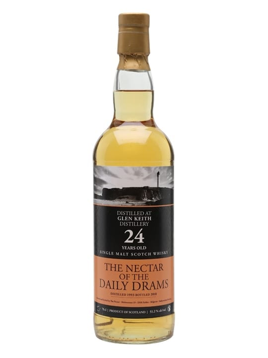 Glen Keith 1993 / 24 Year Old / Daily Drams Speyside Whisky