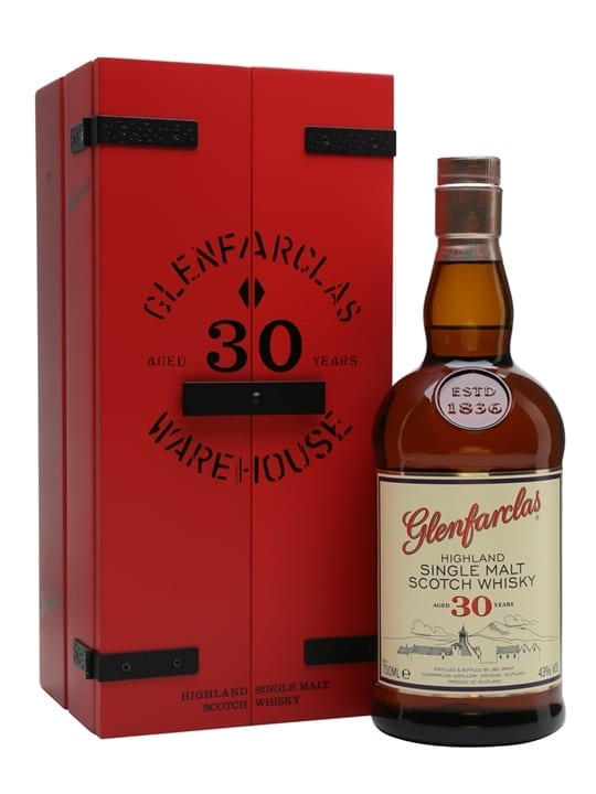 Glenfarclas 30 Year Old / 180 Years In Production Speyside Whisky