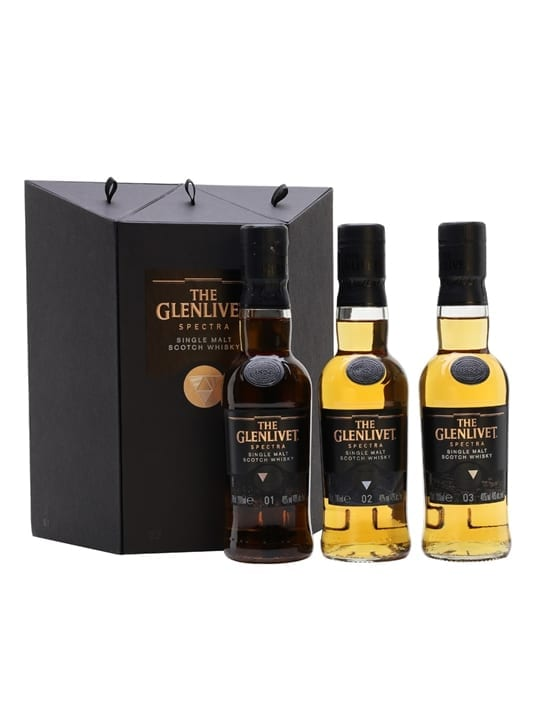 Glenlivet Spectra / 3x20cl Speyside Single Malt Scotch Whisky