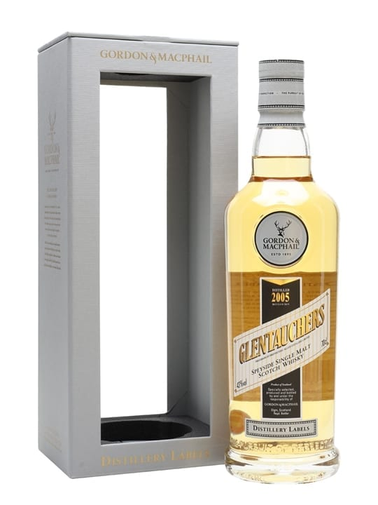 Glentauchers 2005 / Bot.2019 / G&M Distillery Labels Speyside Whisky