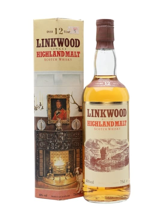 Linkwood 12 Year Old / Bot.1980s Speyside Single Malt Scotch Whisky