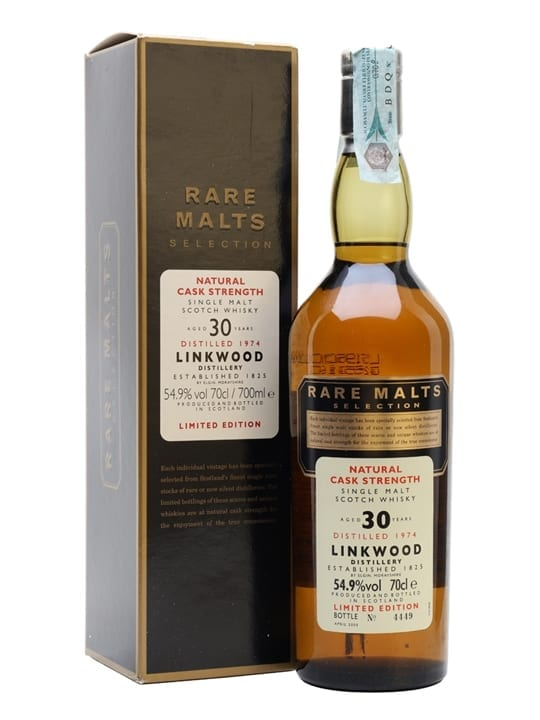 Linkwood 1974 / 30 Year Old / Rare Malts Speyside Whisky