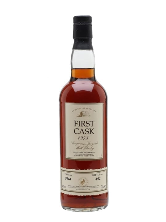 Longmorn 1973 / 21 Year Old / Sherry Cask / First Cask Speyside Whisky