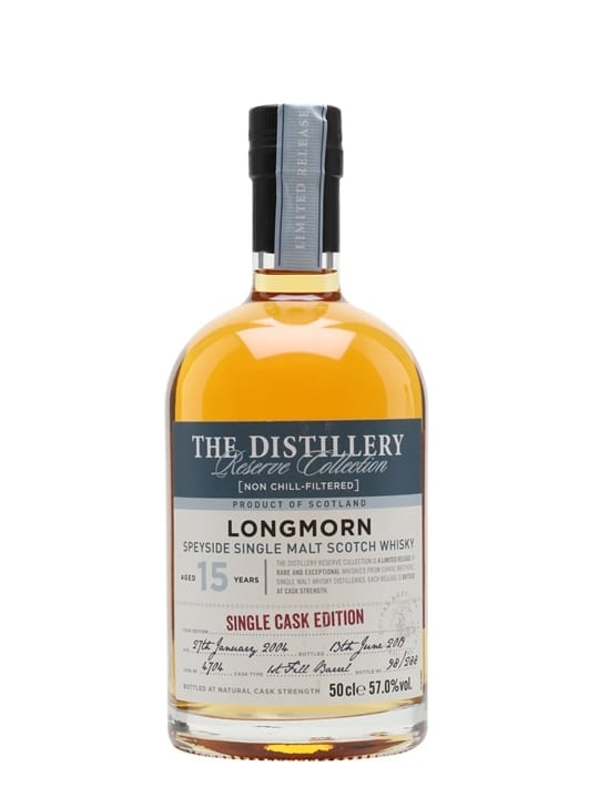 Longmorn 2004 / 15 Year Old / Distillery Edition Speyside Whisky