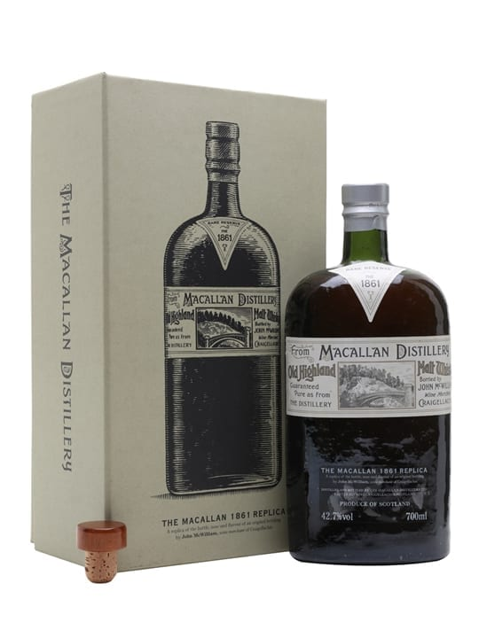 Macallan 1861 Replica Speyside Single Malt Scotch Whisky