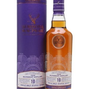 Miltonduff 10 Year Old / Sherry Cask / G&M Discovery Range Speyside Whisky