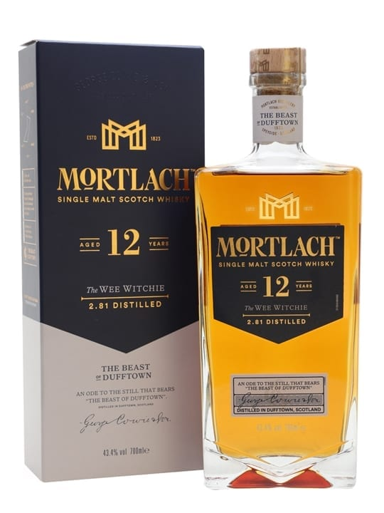 Mortlach 12 Year Old / The Wee Witchie Speyside Whisky