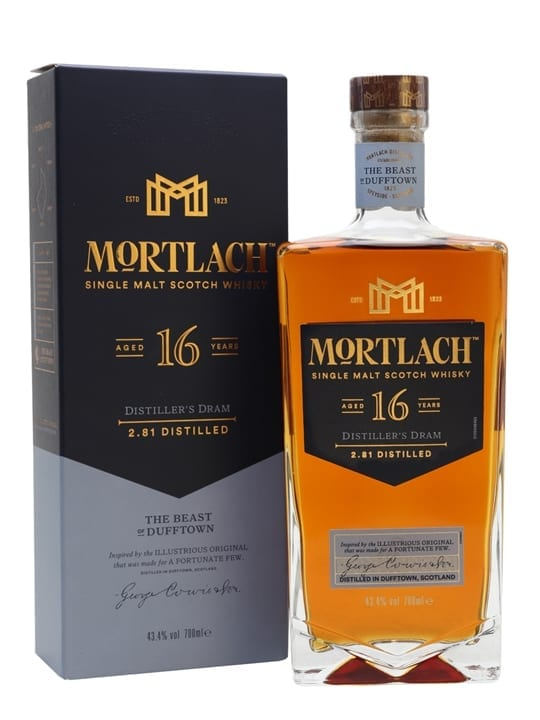Mortlach 16 Year Old / Distiller's Dram Speyside Whisky