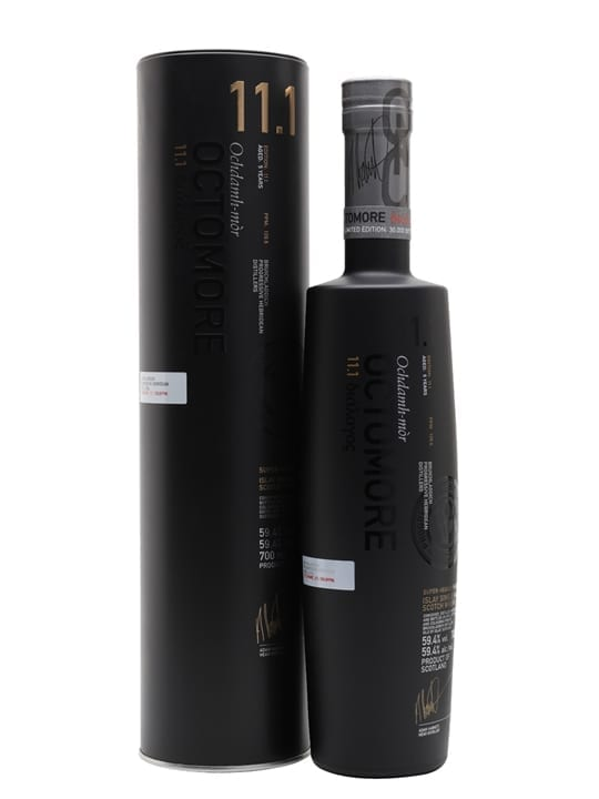Octomore Scottish Barley 11.1 / 5 Year Old Islay Whisky