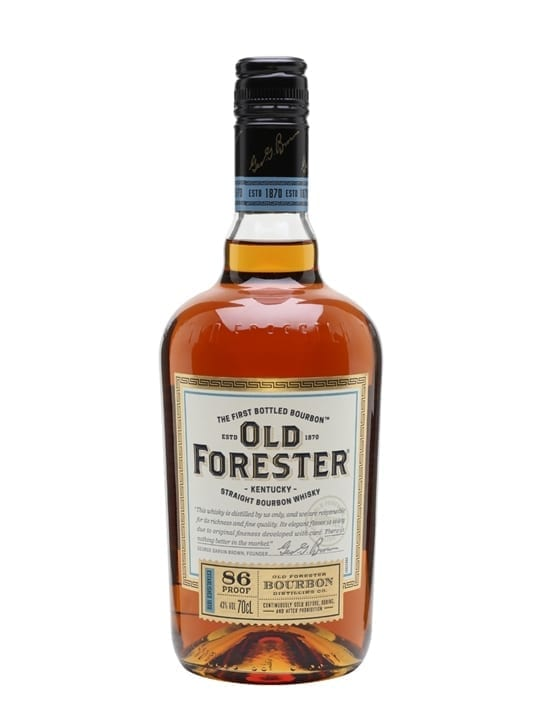 Old Forester Bourbon Kentucky Straight Bourbon Whiskey