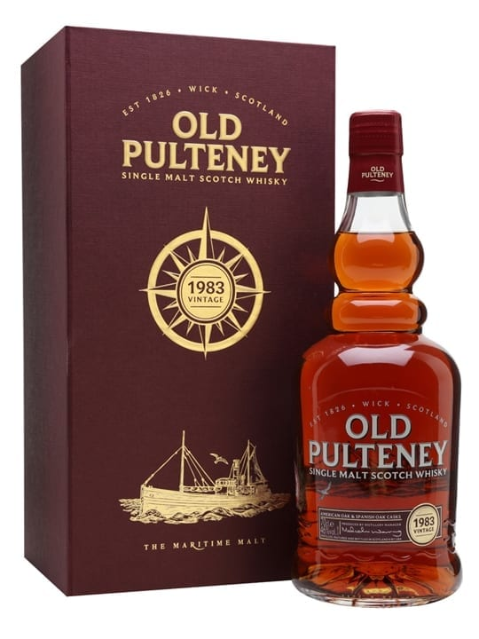 Old Pulteney 1983 / 33 Year Old / Sherry Cask Highland Whisky