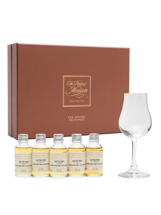 Old Pulteney Tasting Set / 5x3cl Highland Single Malt Scotch Whisky