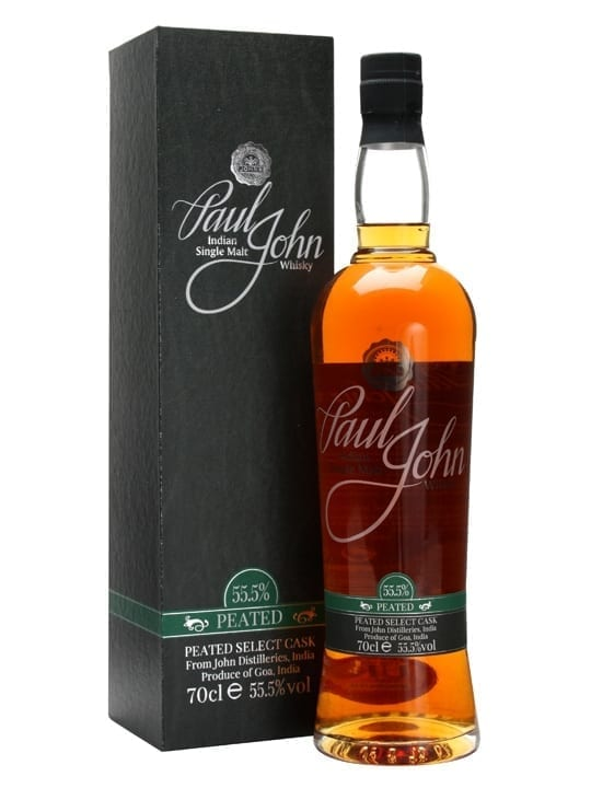 Paul John Peated Select Cask Indian Single Malt Whisky