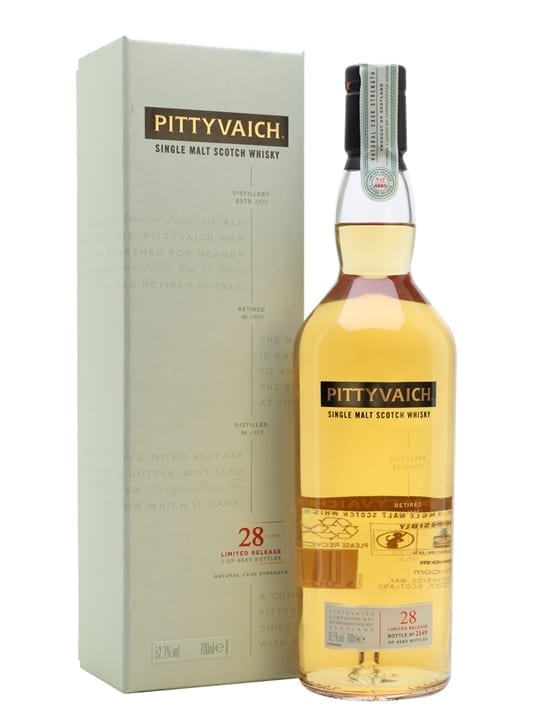 Pittyvaich 28 Year Old / Special Releases 2018 Speyside Whisky