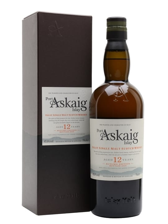 Port Askaig 12 Year Old / Autumn Edition Islay Whisky