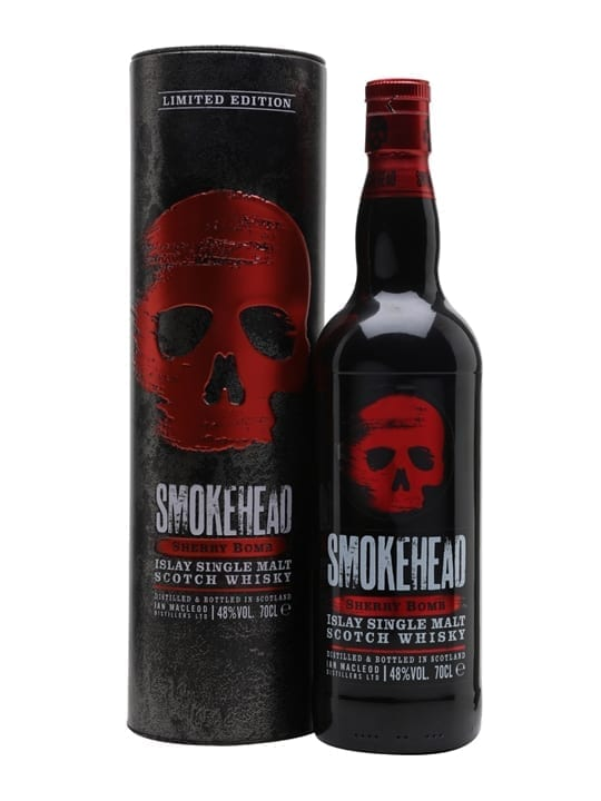 Smokehead Sherry Bomb Islay Single Malt Scotch Whisky