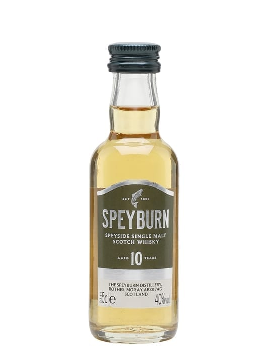 Speyburn 10 Year Old Miniature Speyside Single Malt Scotch Whisky