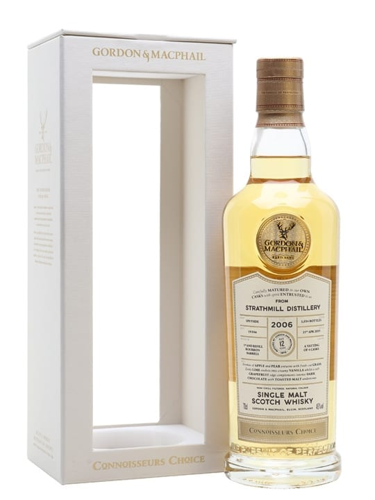 Strathmill 2006 / 12 Year Old / Connoisseurs Choice Speyside Whisky
