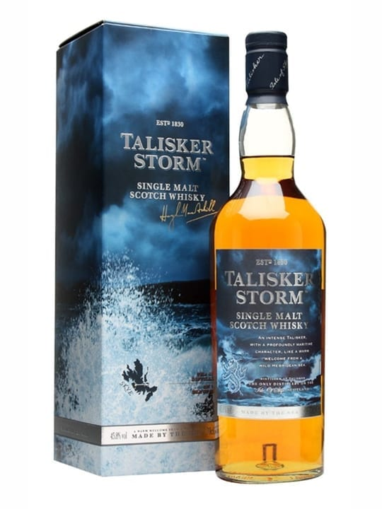Talisker Storm Island Single Malt Scotch Whisky