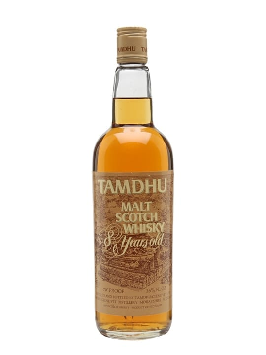 Tamdhu 8 Year Old / Bot. 1970s Speyside Single Malt Scotch Whisky