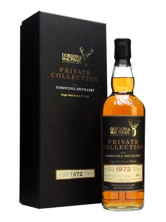 Tomintoul 1972 / 40 Year Old / David Urquhart Bottling Speyside Whisky