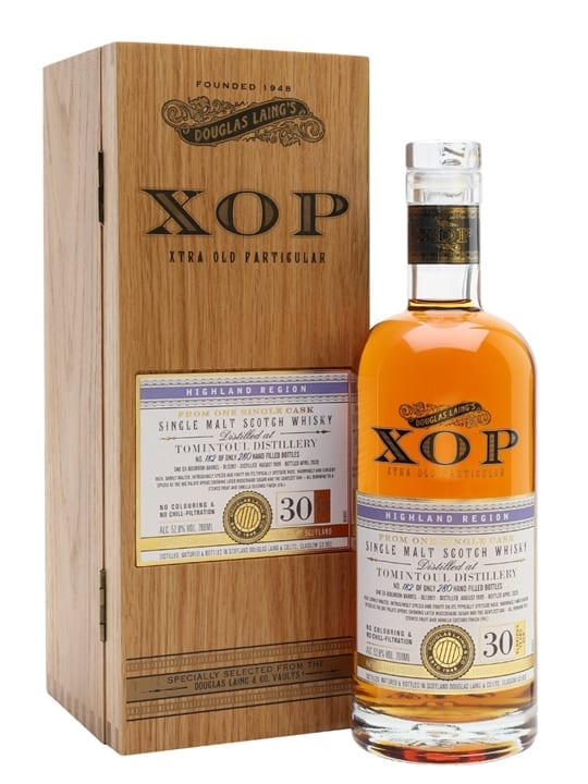 Tomintoul 1989 / 30 Year Old / Xtra Old Particular Speyside Whisky