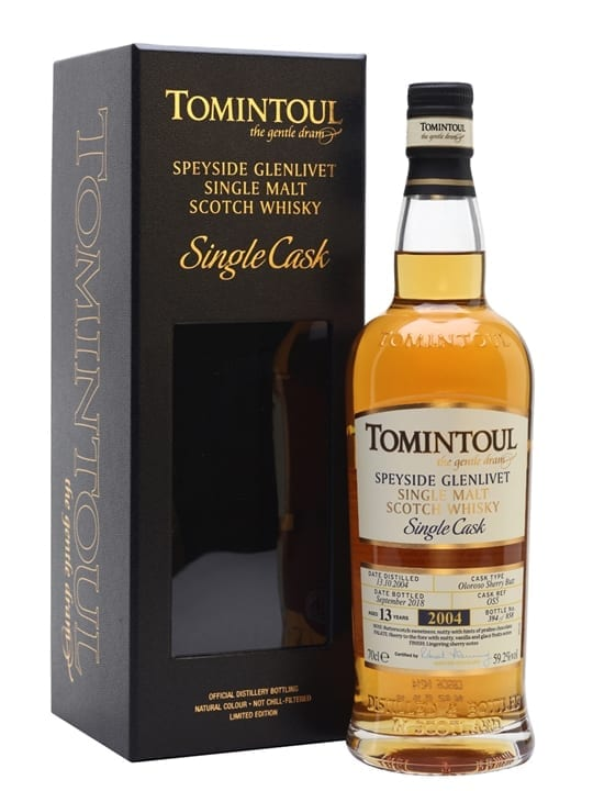 Tomintoul 2004 / 13 Year Old / Sherry Cask Speyside Whisky
