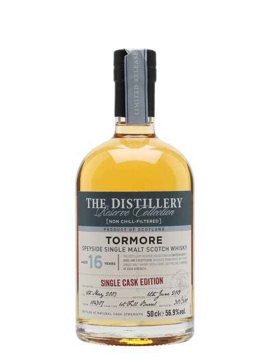 Tormore 2003 / 16 Year Old / Distillery Edition Speyside Whisky