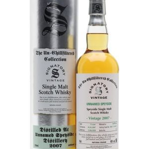 Unnamed Speyside 2007 / 13 Year Old / Signatory Speyside Whisky