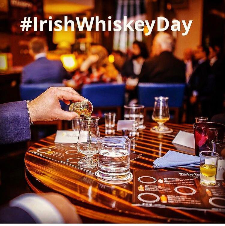 International Irish Whiskey Day 3rd March 3/3 created by Irish Whiskey Blogger Stuart McNamara