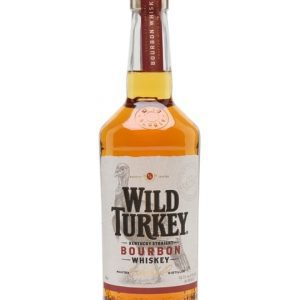 Wild Turkey 81 Proof Bourbon Kentucky Straight Bourbon