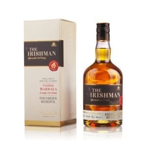Irish Whiskey Trail 2018 Irish Whiskey of the Year Finalist The Irishman Founders Reserve from Walsh Whiskey, Carlow.