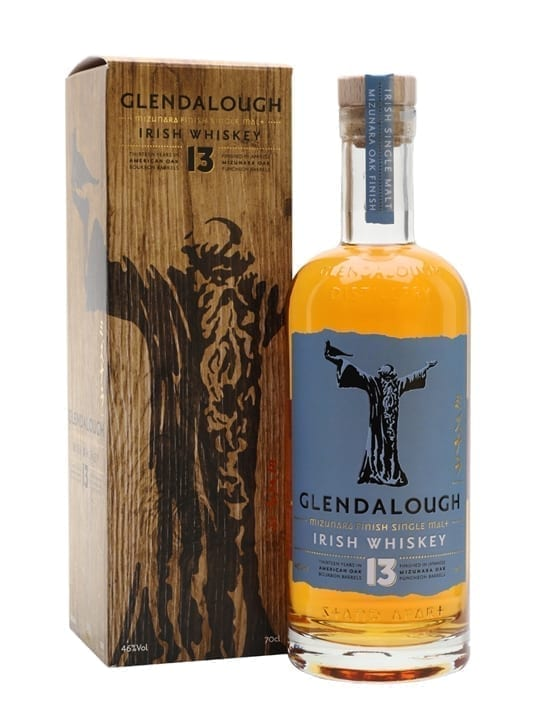 Glendalough 13 Year Old Mizunara Finish Single Malt Irish Whiskey