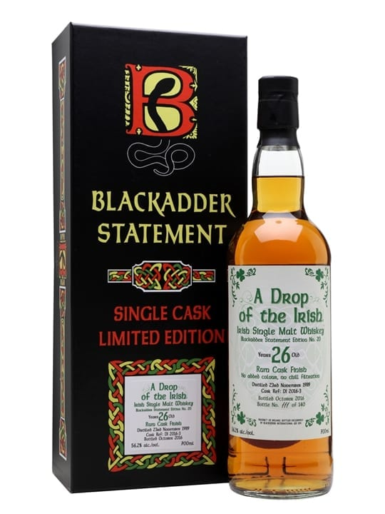 A Drop of the Irish 1989 / 26 Year Old / Blackadder
