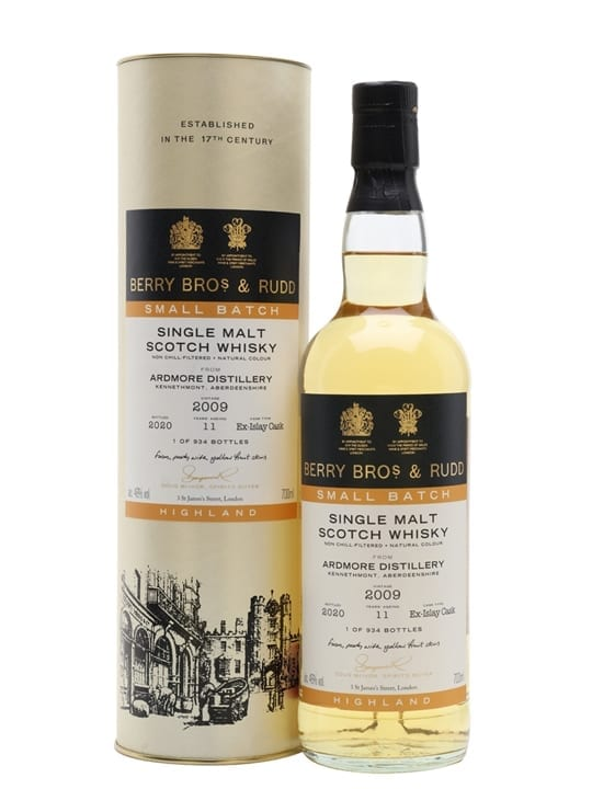 Ardmore 2009 / 11 Year Old / Berry Bros & Rudd Highland Whisky