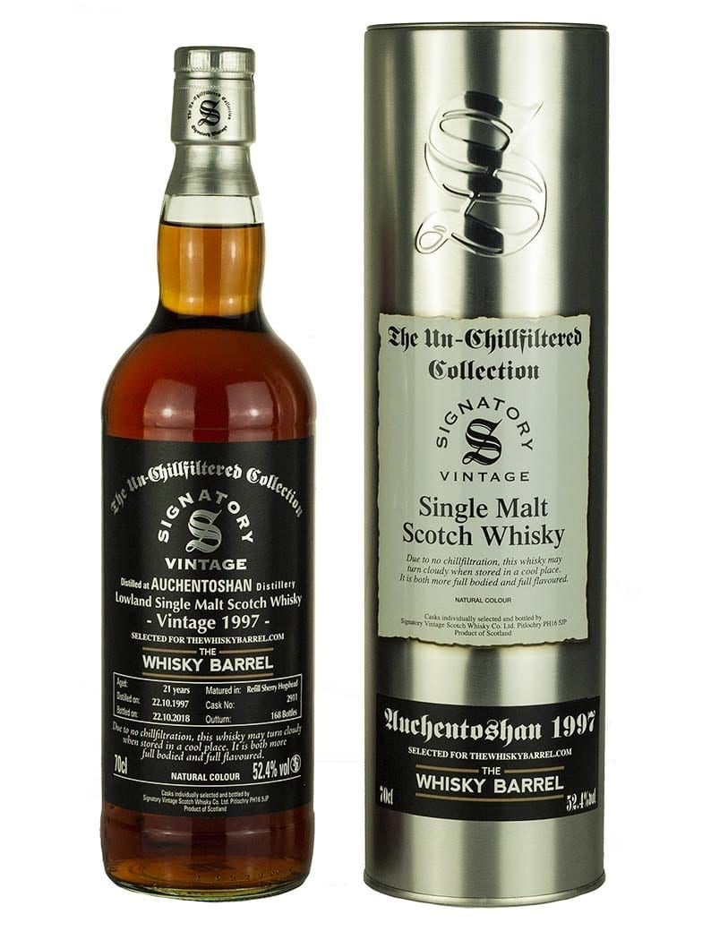 Auchentoshan 21 Year Old 1997 Signatory Exclusive