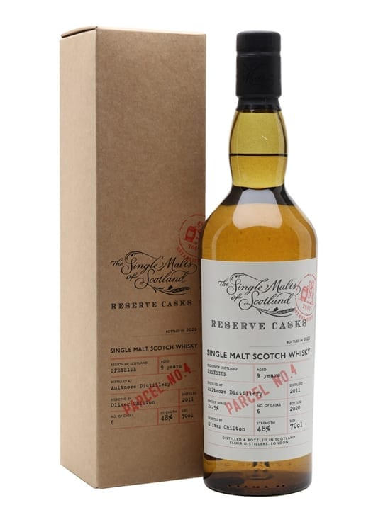 Aultmore 9 Years Old / Reserve Cask - Parcel No.4 Speyside Whisky